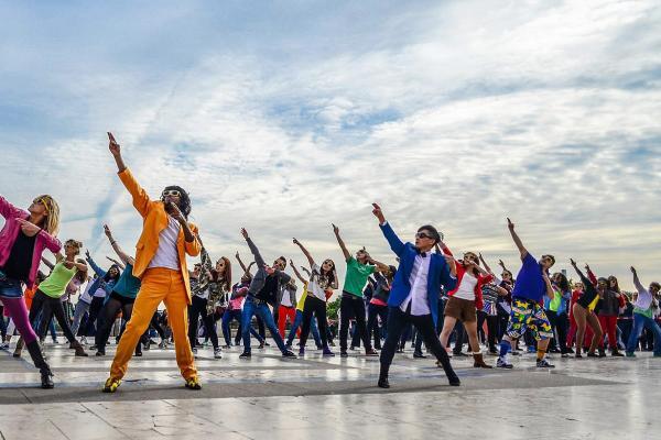 De leukste activiteit met de flashmob workshop i n Aalst!